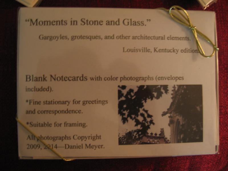 Moments in Stone and Glass--Louisville edition, Boxed set.